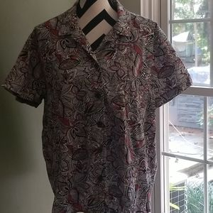 White Stag Leaf Shirt